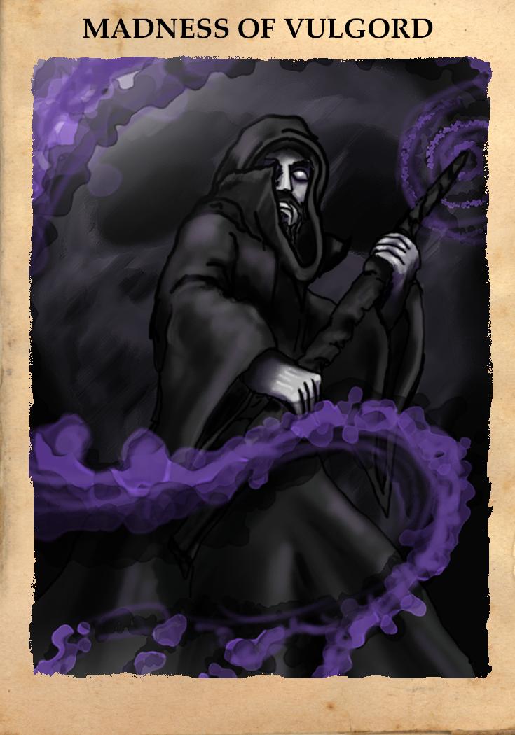 Vulgord's Tower - Madness of Vulgord Card
