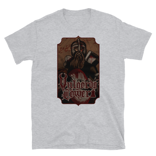 Vulgord's Tower Warrior T-Shirt - Light Grey
