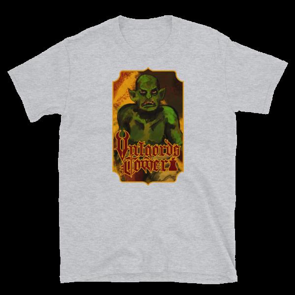 Vulgord's Tower Goblin T-Shirt - Light Grey