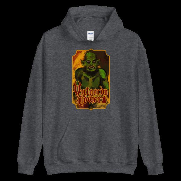 Vulgord's Tower Goblin Hoodie - Dark Grey