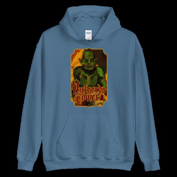 Vulgord's Tower Goblin Hoodie - Indigo Blue