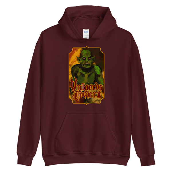 Vulgord's Tower Goblin Hoodie - Maroon