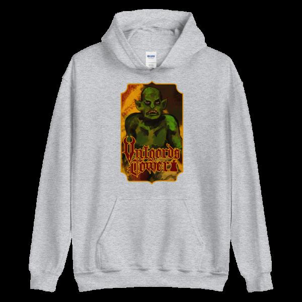 Vulgord's Tower Goblin Hoodie - Grey