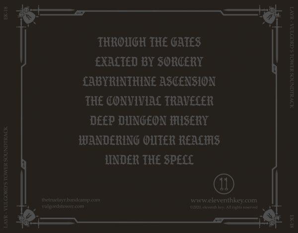 Vulgord's Tower Soundtrack CD