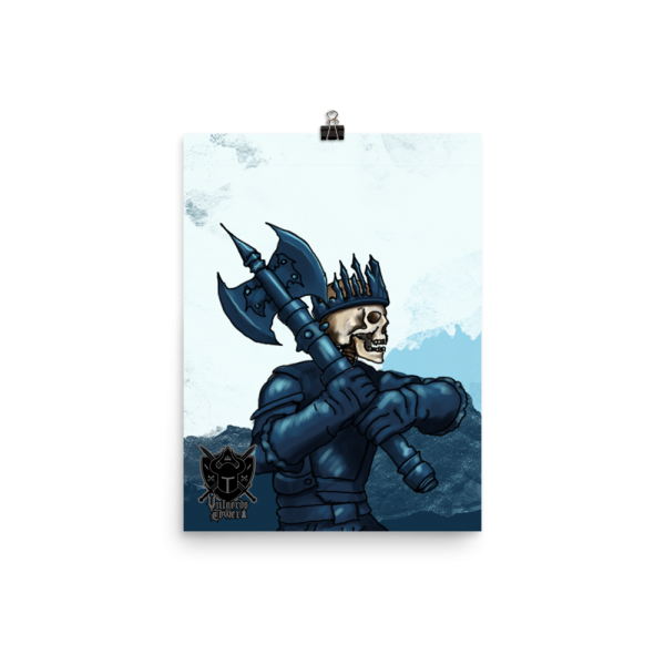 Vulgord's Tower Ice King Poster