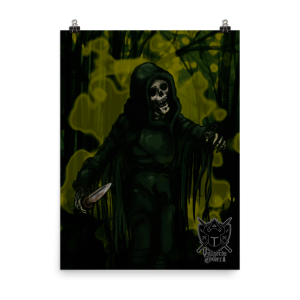 Vulgord's Tower Bog Wrath Poster