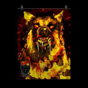 Vulgord's Tower Demon Dog Poster