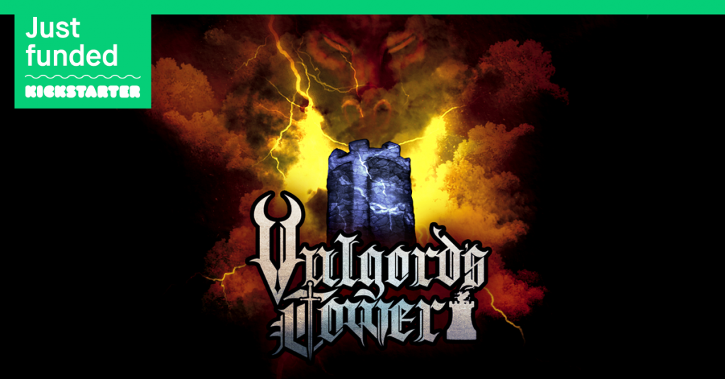 Vulgord's Tower Kickstarter Funded in Two Days!